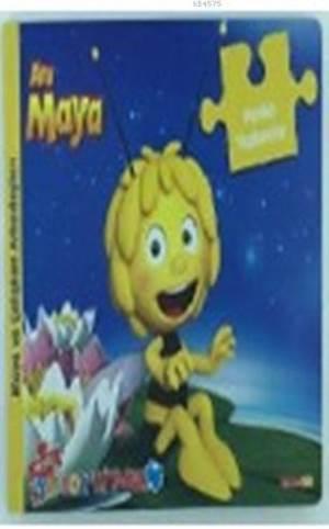 Arı Maya - Neşeli Yapboz Kitabım; Maya Ve Çalışkan Arkadaşları