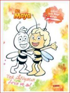 Arı Maya Sihirli Sulu Boya Kitabı