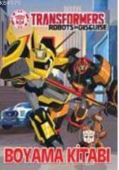 Transformers Boyama Kitabı