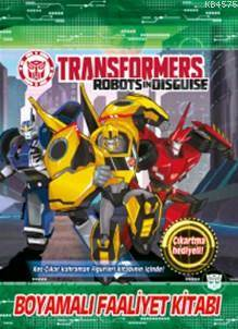 Transformers Boyamalı Faaliyet Kitabı