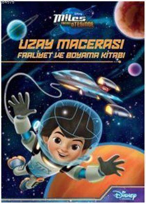 Disney Uzay Macerası; Faaliyet ve Boyama Kitabı