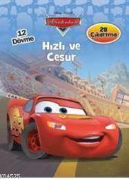 Disney Arabalar - Hızlı Ve Cesur; 12 Dövme, 28 Çıkartma