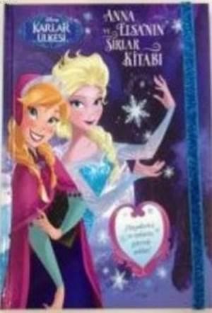 Disney Karlar Ülkesi Anna Ve Elsanın Sırlar Kitabı