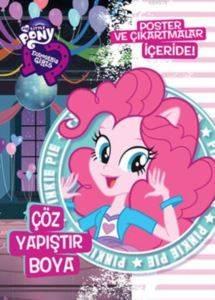 Mlp Eq Girls Çöz Yapıştır Boya - Pinkie Pie