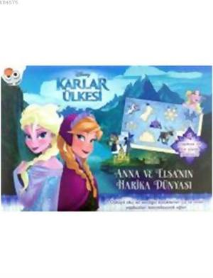 Disney Karlar Ülkesi Anna Ve Elsa'nın Harika Dünyası Yapboz Kitabı
