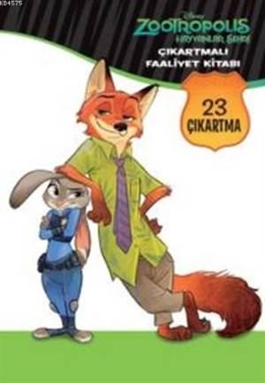 Disney Zootropolis Hayvanlar Çıkartmalı Faaliyet Kitabı