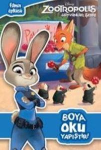 Disney Zootropolis Hayvanlar Şehri Boya Oku Yapıştır