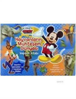 Disney Mickey Ve Arkadaşları Hayvanların Muhteşem Dünyası Yapboz Kitabı