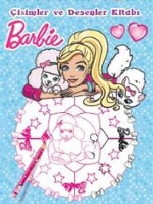 Barbie Çizimler Ve Desenler Kitabı