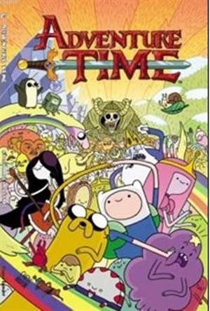 Adventure Time Çizgi Macera Kitabı