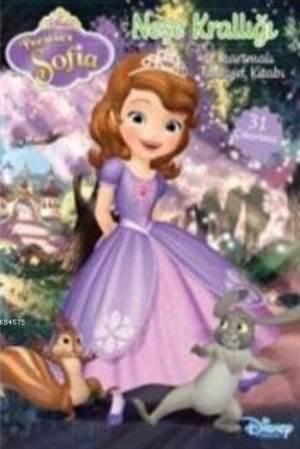 Disney Prenses Sofia Neşe Krallığı Çıkartmalı Faaliyet Kitabı