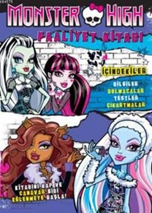 Monster High Faaliyet Kitabı (+6 Yaş)