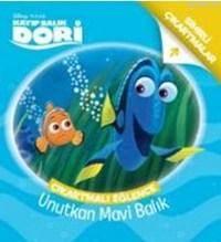 Kayıp Balık Dori Unutkan Mavi Balık; Çıkartmalı Eğlence