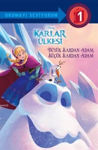 Disney Karlar Ülkesi - Büyük Kardan Adam Küçük Kardan Adam; Okumayı Seviyorum - 1