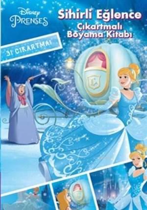 Disney Prenses Çıkartmalı Boyama Kitabı – Sihirli Eğlence