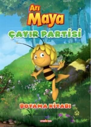 Arı Maya Çayır Partisi Boyama Kitabı; Boyama Kitabı