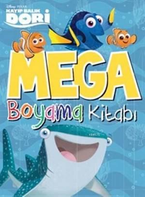 Disney Kayıp Balık Dori Mega Boyama Kitabı
