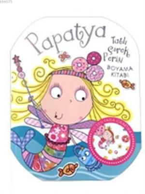 Papatya Tatlı Çörek Perisi Boyama Kitabı