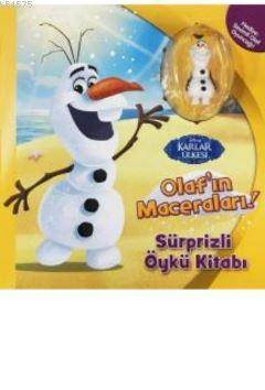 Karlar Ülkesi Olafın Maceraları Sürprizli Öykü Kitabı