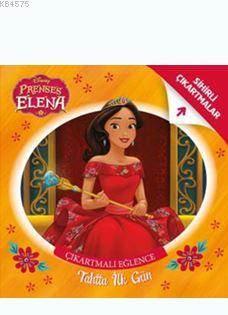 Prenses Elma - Tahtta İlk Gün - Çıkartmalı Eğlence
