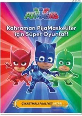 PJ Maskeliler- Kahraman PJ Maskeliler İçin Süper Oyunlar!