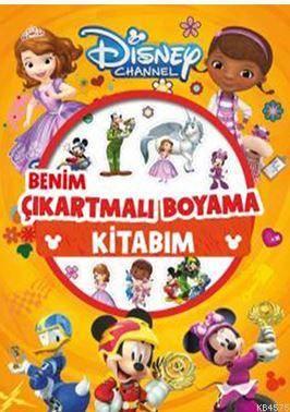 Disney Channel - Benim Çıkartmalı Boyama Kitabım