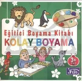 Eğitici Boyama Kitabı - Kolay Boyama
