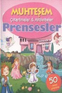 Muhteşem Çıkartmalar Aktiviteler - Prensesler