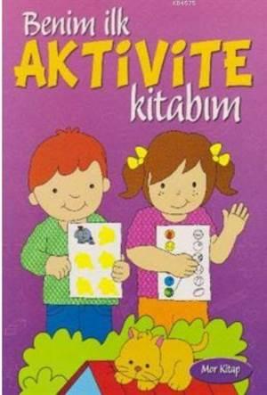 Benim İlk Aktivite Kitabım-Mor Kitap