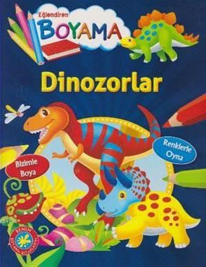 Eğlendiren Boyama-Dinozorlar