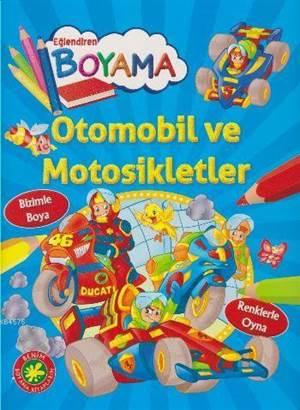 Eğlendiren Boyama-Otomobil Ve Motosikletler