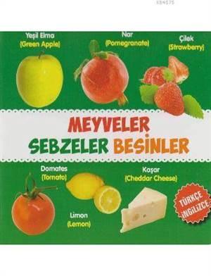 Meyveler-Sebzeler-Besinler Türkçe-İngilizce