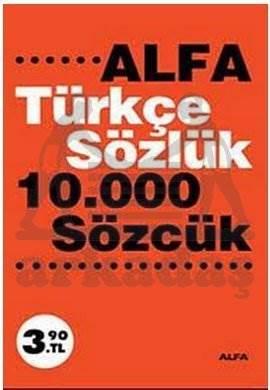 Türkçe Sözlük 10,000 Sözcük