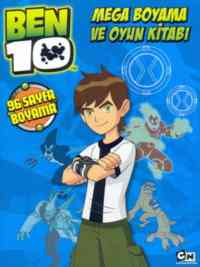 Ben 10-Mega Boyama ve Oyun Kitabı