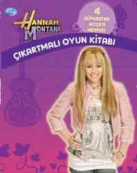 Hannah Montana-Çıkartmalı Oyun Kitabı