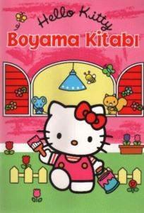 Hello Kıtty Boyama Kitabı