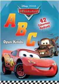 Arabalar-A B C (Oyun Kitabı)