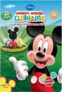 Mickey Mouse Club House: En Güzel, En Büyük Boyama Kitabı