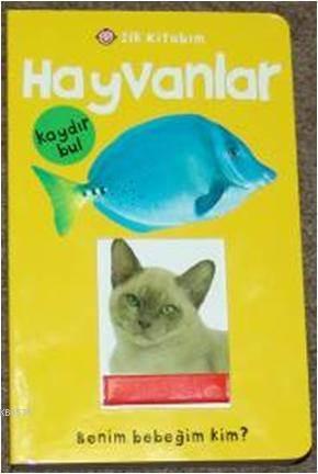 İlk Kitabım Hayvanlar Kaydır Bul
