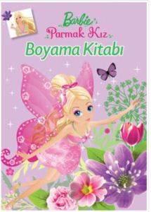Barbıe Parmak Kız Boyama Kitabı