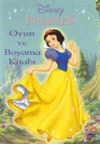 Disney Prenses - Boyama ve Oyun Kitabı
