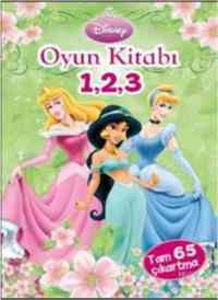 Disney Prenses -  Oyun Kitabı 1,2,3