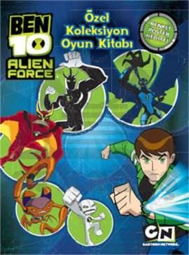 Ben 10 Alien Force Özel Koleksiyon Oyun Kitabı
