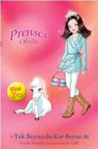 Prenses Okulu 20 - Prenses Isabella ve Tek Boynuzlu Kar Beyaz At