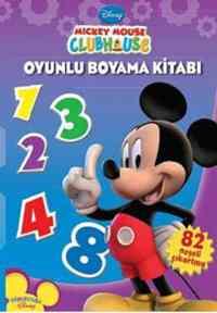 Mickey Mouse Club House Oyunlu Boyama Kitabı