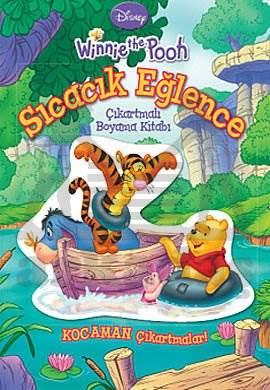 Winnie the Pooh Sıcacık Eğlence / Çıkartmalı Boyama Kitabı