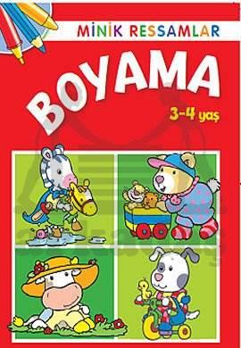 Minik Ressamlar Boyama 3-4 Yaş