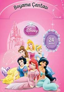 Disney Prenses - Boyama Çantası 24 Çıkartma