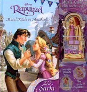 Disney Rapunzel (Masal Kıtabı ve Müzikçalar )