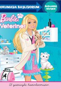 Okumaya Başlıyorum Başlangıç Seviyesi - Barbie Veteriner